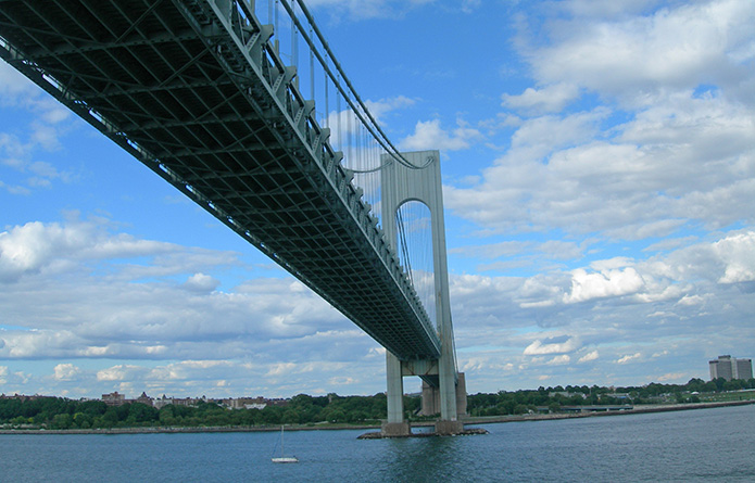 Verrazano Narrows Bridge Approach