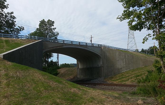 County Road 26 over Metro-North Railroad