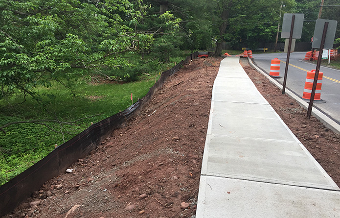 East Willow Road Sidewalk Improvements