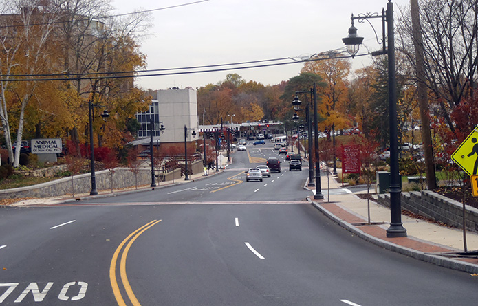 New Hempstead Road Reconstruction