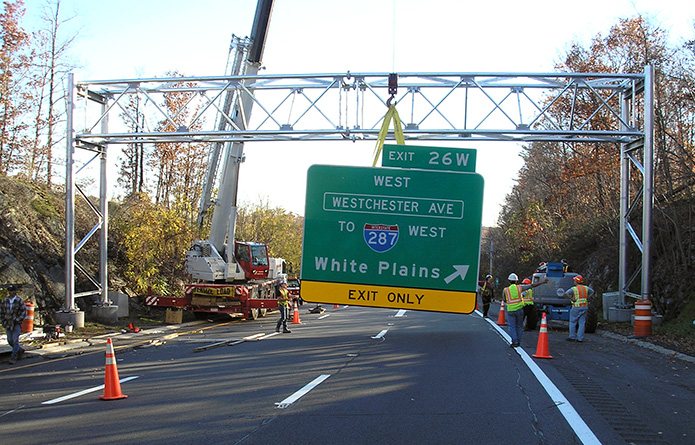 NYSDOT Sign Structure Contracts