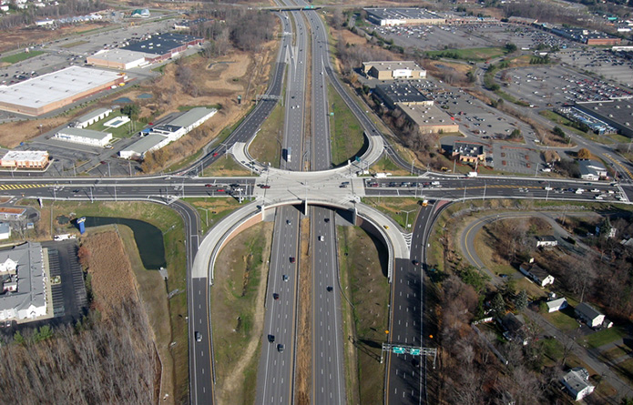 Route 7 over I-87 Interchange