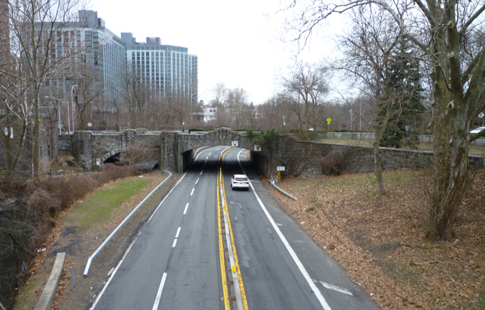 Main Street Bridge Bronx River Parkway